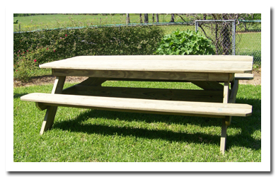 6 foot picnic table plans