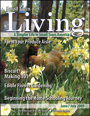 Small Town Living June July 08 Cover